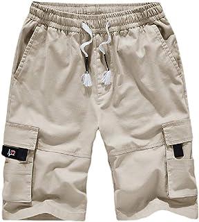 VITryst Men Multi-Pockets Casual Shorts Pants Rugged Wear Cargo Work Pant