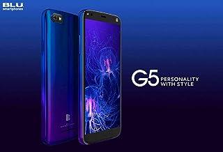 BLU G5 Unlocked Android V. 9 Pie Cell Phone 32GB Memory 2GB RAM 5.5 HD Display-Blue…
