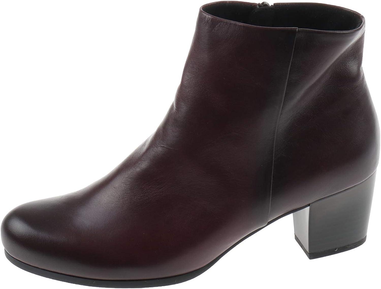 Gabor Damen Schuhe Stiefel Stiefelette Nappa Toskana Dark vino Weinrot 9669061