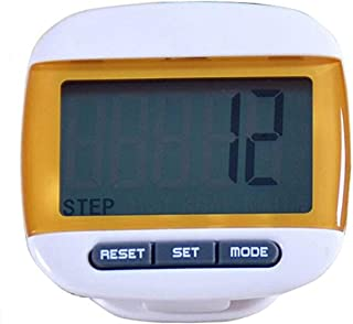 Formvan LCD Pedometer for Walking Clip On Portable Step Counter for Steps and Miles Calories Men Women Kids Sports Running