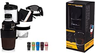CHAANE AUTO 5 in 1 Multi Cup Holder Black