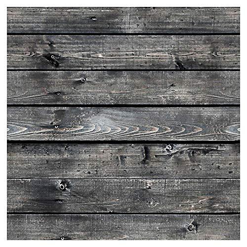 murando Tapete selbstklebend 10m Wandtattoo dekorative Möbelfolie Dekorfolie Fotofolie Panel Wandaufkleber Wandposter Wandsticker - Holz 1602-7