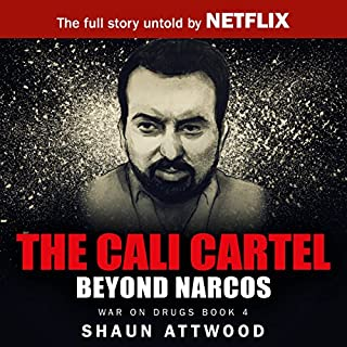 The Cali Cartel audiobook cover art