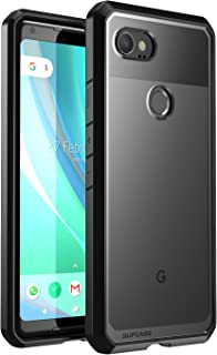 SUPCASE Unicorn Beetle Series Designed for Google Pixel 2 XL Case,Premium Hybrid Protective Clear Case for Google Pixel 2 XL (2017 Release) (Black)