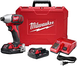 Milwaukee Electric Tools M18 1/4In Hex Impact Kit 2Spd 2657-22CT