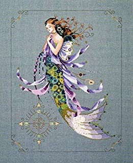 Shimmering Mermaid - Cross Stitch Pattern