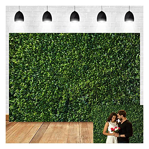 Nature Spring 3D Green Leaves Theme Photography Backdrops 8x6ft Vinyl Newborn Baby Shower Photo Background Wedding Birthday Party Decor Banner Studio Props Cake Table Booth