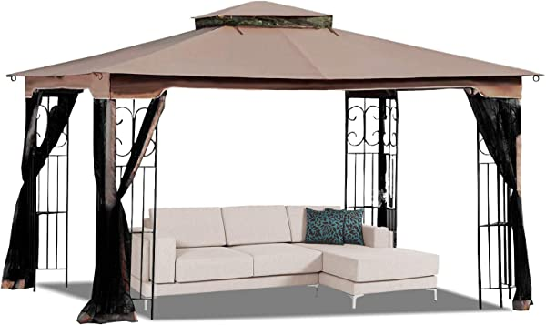 MASTERCANOPY 10 X 12 Gazebo Replacement Canopy Roof For Model GZ798PST E Only Top