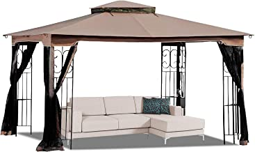 MasterCanopy 10' x 12' Gazebo Replacement Canopy Roof ONLY for Model GZ798PST-E(Top Only )