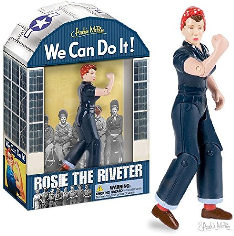 liquidación hasta el 70% Rosie The Riveter Acción Figurine by Juguete Zany Zany Zany  mejor reputación