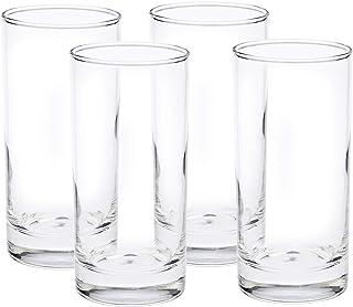 Harmony Set of 4 Tumbler Glass, Clear - LTC00056