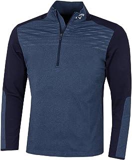 Callaway Golf 2021 Mens Lightweight Water Repellent Heathered Aquapel Sweater