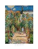Claude Monet Poster/Kunstdruck Le Jardin de L'Artiste 50 x