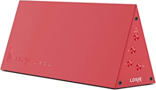 LOXJIE D10 Hi-res DAC Headphone Amplifier ES9038Q2M Mini HiFi Audio Decording DSD512 32bit/768kHz USB/Opt/Coax Input(Red)
