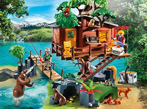Playmobil Cabane des Aventuriers dans les Arbres 5557 - 2