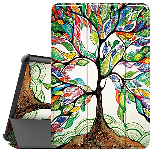 """Famavala Shell Case Cover for 10.1"""" All-New Fire HD 10 / Fire HD 10 Plus Tablet [11th Generation, 2021 Release] (LuckyTree)"""