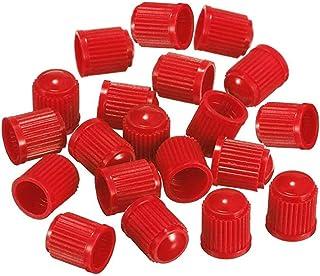 DDG EDMMS - Tapones de plástico Coloridos para válvula de neumático de Coche, Moto,