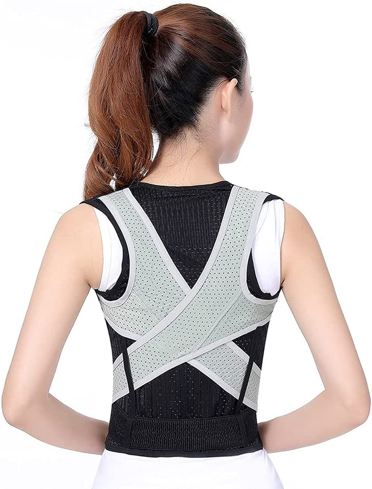 DQXMM Lightweight Inexpensive Adjustable Back Large special price !! Posture Cors Corrector Therapy
