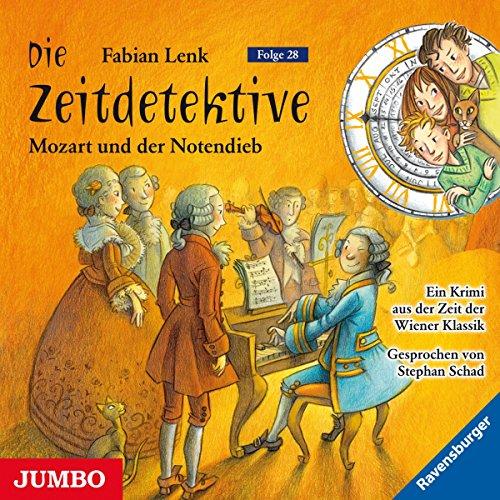 Mozart und der Notendieb Titelbild