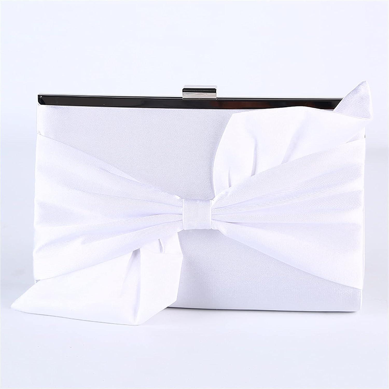 ATHH Silk Clutch,Chain Shoulder Bag Fashion Wedding Clutch Bag Purse Women's Evening Bag for Wedding Evening Party Handbag
