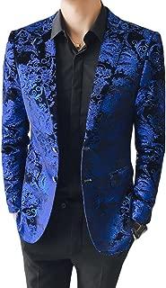 mens cheetah print blazer