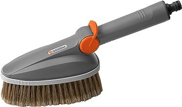 GARDENA Ręczna szczotka do mycia: przepływowa szczotka do szorowania do urządzeń Cleansystem, idealna do czyszczenia mebli...