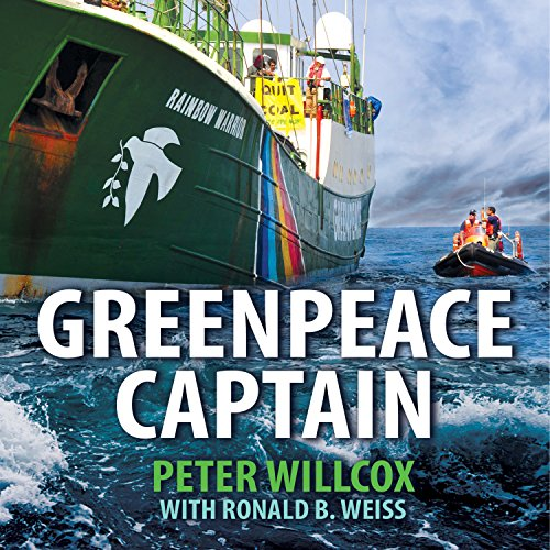 Greenpeace Captain audiobook cover art