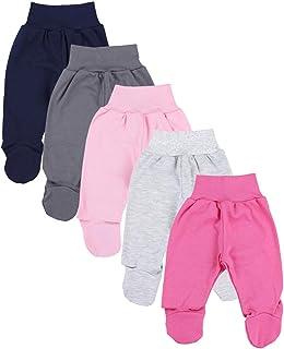TupTam, Pantalón con Pies de Bebé Pack de 5