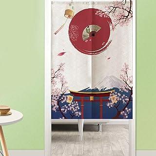 Raguso Cortina Cortina de Estilo japonés para decoración de Cocina