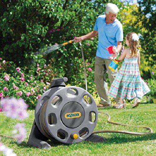 Free-standing jardín carrete de manguera 25 m/jardinería jardín Patio cosas artículos Gadgets Patio jardín