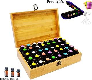 Best essential oil wooden box organizer Reviews