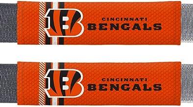 Fremont Die NFL Cincinnati Bengals Rally DesignAuto Seat Belt Pads, Team Colors, One Size