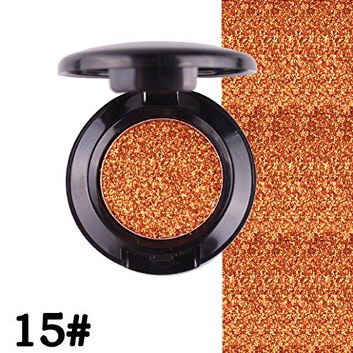 Changierender Glitter, loses Lidschatten-Pulver von Mingfa, Damen, silbern-holografisches Pigment, Profi-Make-up für die Augen