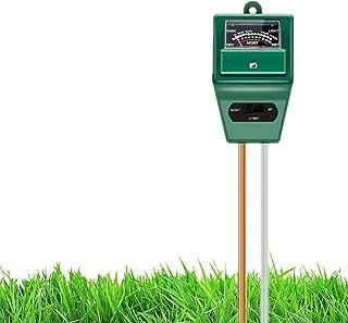 Hofun Soil pH Meter, 3-in-1 Soil Moisture/Light/pH Tester Gardening Tool Kits for Plant Care, Great for Garden, Lawn, Farm...