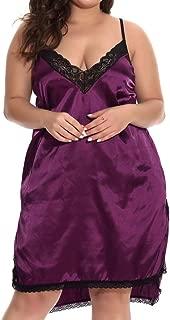 Lovely-Joy 2019 Women Lace Sexy Passion Lingerie Babydoll Plus Size Dress Nightwear Dress