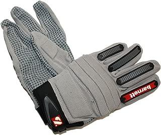 barnett FLG-02 new generation linemen football gloves size L silver