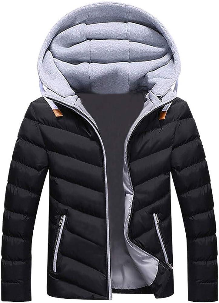 IWHTGD Hombres Ni/ños Sombrero de Invierno C/álido Informal Abrigo con cremallera Desmontable Outwear Chaqueta Blusa Superior ES20119JK07