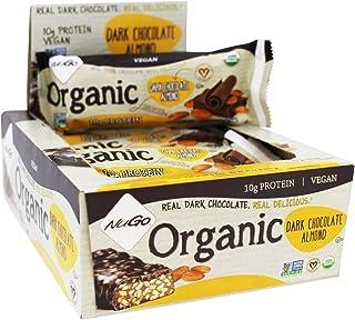 Nugo, Bar Box Dark Chocolate Almond Organic, 1.76 Ounce, 12 Count
