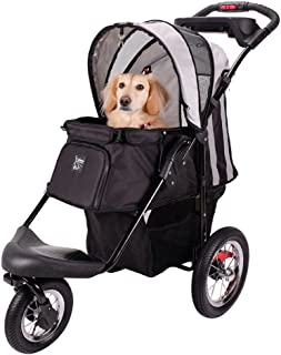 pet stroller with air filled tires