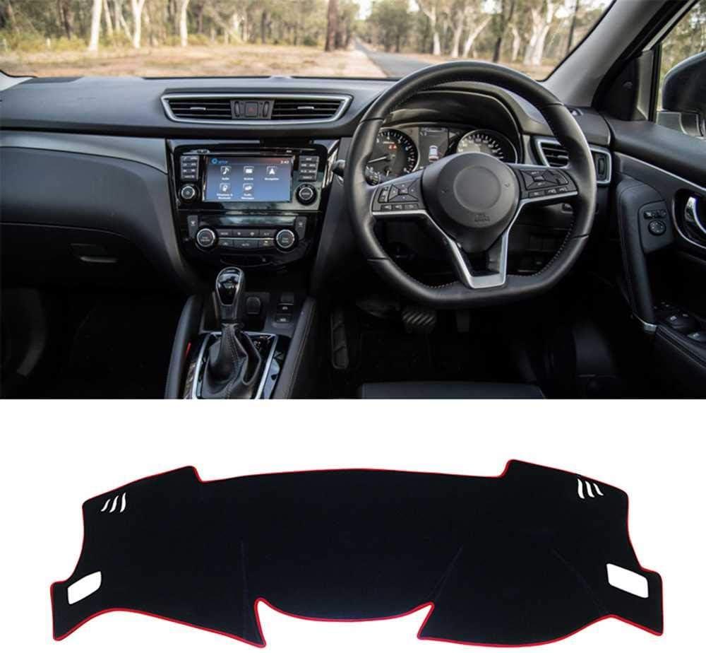 LSJVFK El salpicadero del Coche Evita la Almohadilla de luz Apto para Accesorios Nissan Qashqai J11 2014-2019 2020