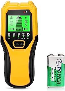 Stud Finder Wood Metal Detector - 5 in 1 Electronic Stud Sensor Wall Scaner Beam Joist Finders Wall Detector Edge Center F...