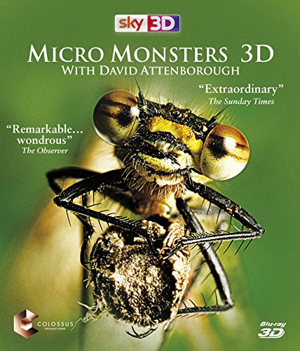 Micro Monsters with David Attenborough 3D (As Seen On Sky) [Blu-ray] [UK Import]