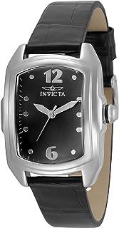 ساعة انفيكتا للنساء لوبا خليط معدني كوارتز مع حزام جلدي، متعدد الألوان 18 موديل 35345