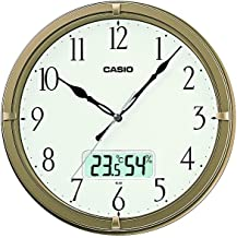 Casio Ic-02-9 Wall Clock with Day and Date Analog Digital Display