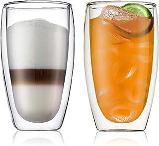 BODUM ボダム PAVINA パヴィーナ ダブルウォール グラス 450ml 2個セット 【正規品】 4560-10