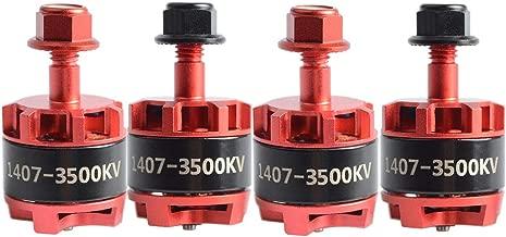 AKK Brushless Motor 3500KV 1407 2CW 2CCW 3-4S lipo for FPV Racing Quadcopter Drone