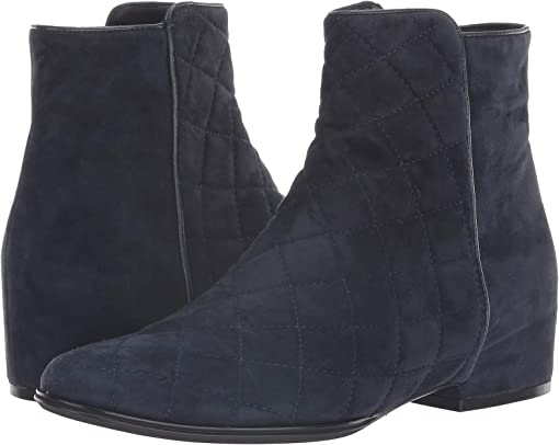 Navy Quilted Suede/Navy Suede/Navy Nappa