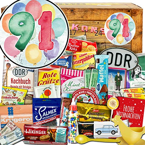 91 Geschenke zum Jubiläum + DDR Weihnachtskalender + Adventskalender für den Partner