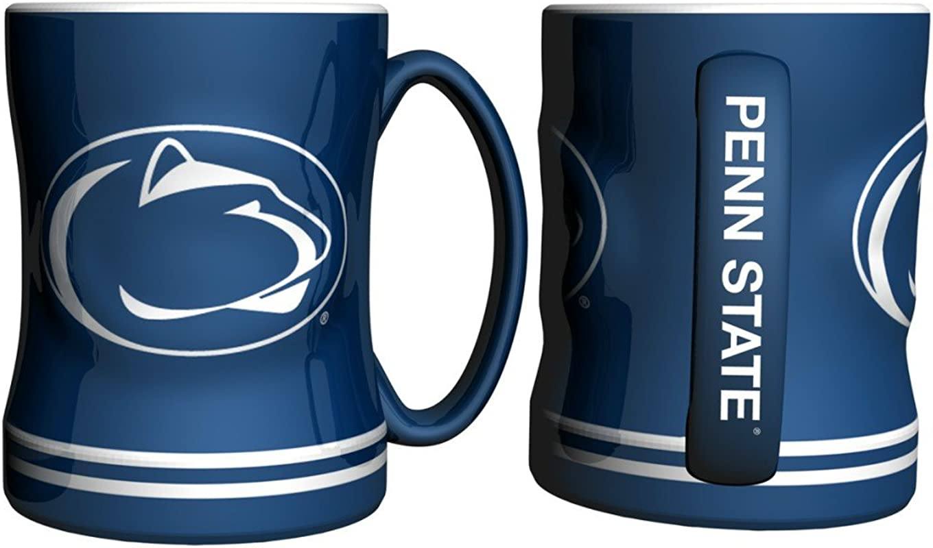 Penn State Nittany Lions Coffee Mug 15oz Sculpted