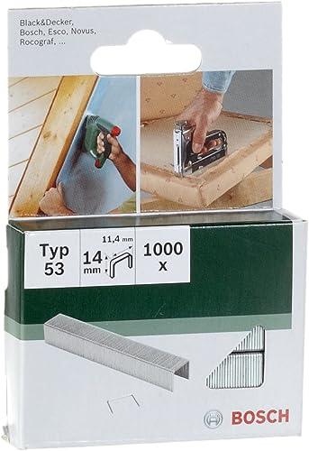 Bosch 2609255823 Agrafe 11,4 x 0,74 x 14 mm Type 53 Lot de 1000